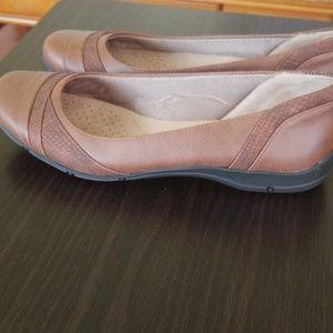 Life Stride Shoes - LIFE STRIDE SOFT SYSTEM  Tan dress shoes